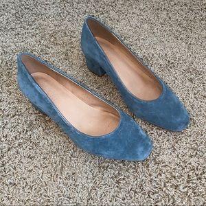 Madewell - Raquel Block Heel Pump Size 7